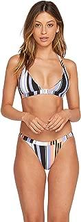 Women's Stripe Tease Hipster Full Bikini Bottom