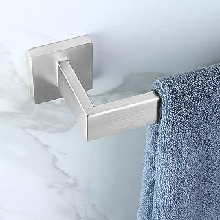 KOKOSIRI 28インチ シングルタオルバー バスルーム キッチン タオルホルダー 壁取り付け SUS304 ステンレススチール タオルラック つや消しニッケル B4003BR-L28