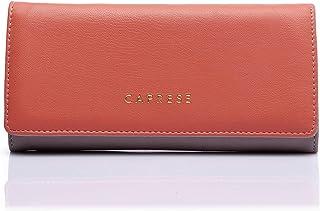 Caprese Women's Wallet (Sand & Coral)