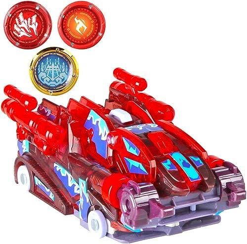 Siyushop Transformed Toy voiture, Modèle de Robot de déformation de Voiture, Jouet de déformation pour Enfants, Déformation 360 ° Flip, Cadeau pour Enfants