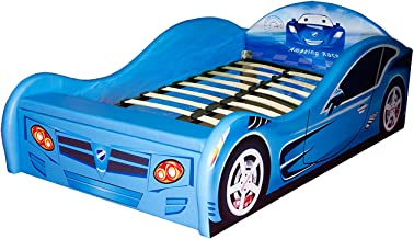 Racing Car Children Bed With Storage Box, 82*230*137 cm - Multi Color