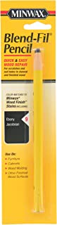 Minwax 110096666 No 9 Blend-Fil Wood Repair Stain Pencil, Ebony Jacobean