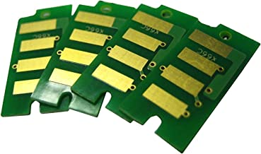 AAA Compatible Drum Imaging Unit Reset Chip Replacement for Xerox Phaser 6600, Workcentre 6605 Printer (4-Pack)