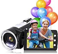 Sponsored Ad - Video Camera Camcorder Vmotal FHD 1080P 24.0MP 2.7 Inch LCD 270 Degrees Rotatable Screen 8X Digital Zoom Ca...