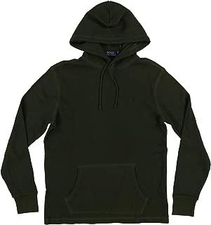 Mens Hooded Waffle Knit T-Shirts