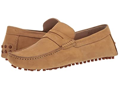 CARLOS by Carlos Santana Ritchie Driver Loafer (Camel Calf Nubuck) Men