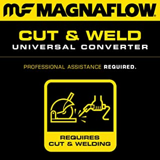 MagnaFlow 457104 Universal Catalytic Converter (CARB Compliant)