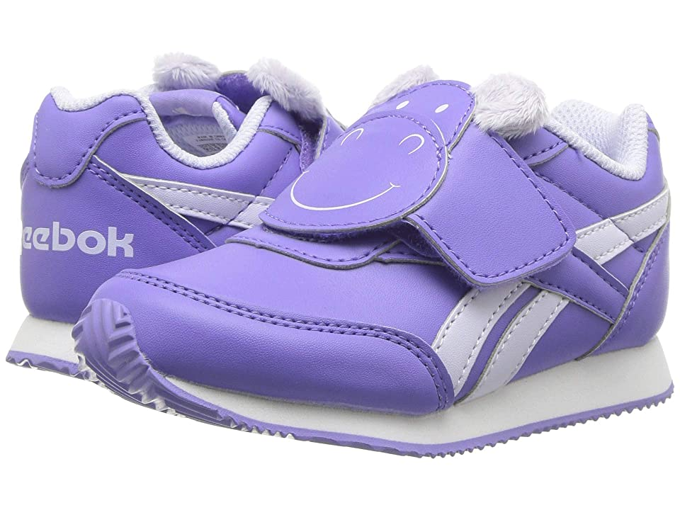 Reebok Kids Royal CL Jogger 2 KC (Infant/Toddler) (Moonpool/Lilac/White) Girls Shoes