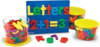 Learning Resources Jumbo Magnetic Letters and Numbers Bundle ( 116 Piece),LER1455,,Multi-color