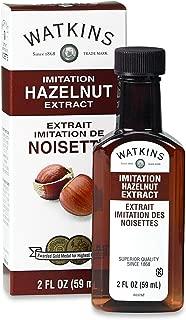 Watkins Imitation Extract, Hazelnut, 2 Fl Oz (Pack of 6) (Packaging May Vary)