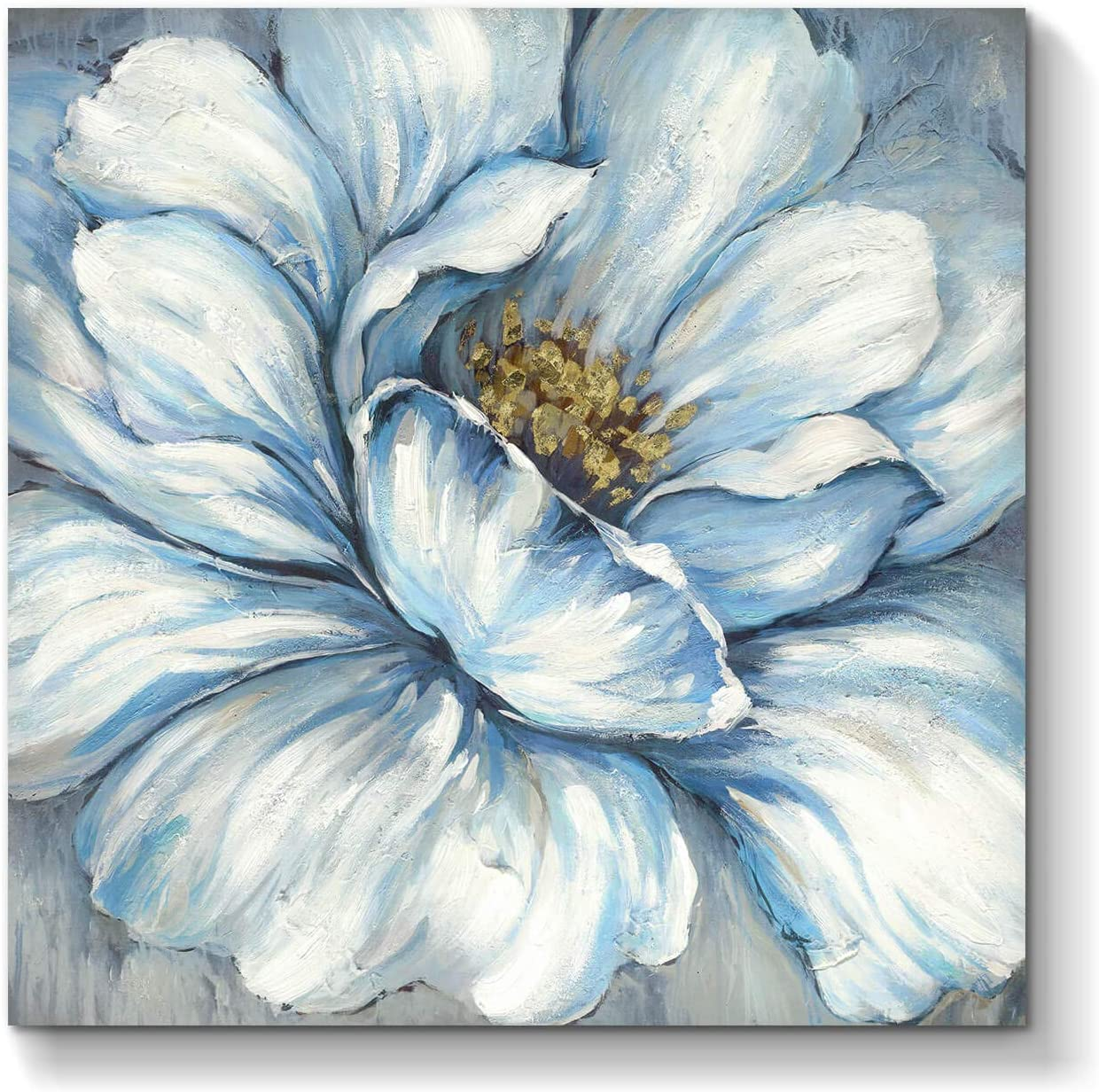 Floral Abstract Wall Art Picture: Hand Blooms Pai Artwork Popular brand in Large special price !! the world Flower