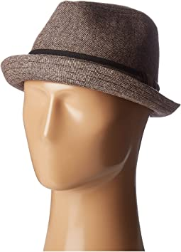 SDH9446 Tweed Porkpie Hat