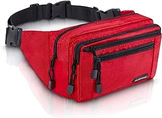 VAN BEEKEN Fanny Pack for Men Women Belt Bag Waist Bag Hip Bag I Waterproof Bum Bag I Supreme Waist Pack Phanny Pack for Hiking Travel Running, Red