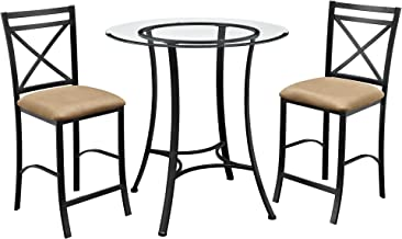 Best triangle glass top dining table Reviews
