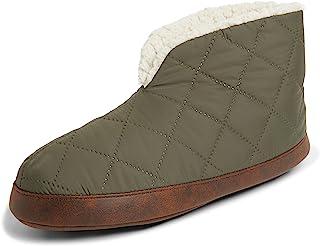 Dearfoams Men's Original Nylon Warm Up Bootie Slipper