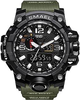 Military Watch Digital SMAEL Brand Watch S Shock Men's Wristwatch Sport LED Watch Dive 50m Wateproof Fitness Sport Watches
