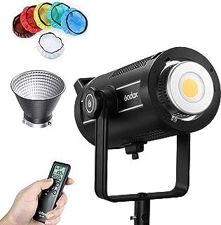 Godox SL200W II 200W LED-videolampen, CRI96 + TLCI97+, geïntegreerde 8-FX-speciale effecten, Ultra Silent Fan voor video-o...