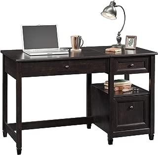 Sauder Edge Water Lift Top Desk, Estate Black finish