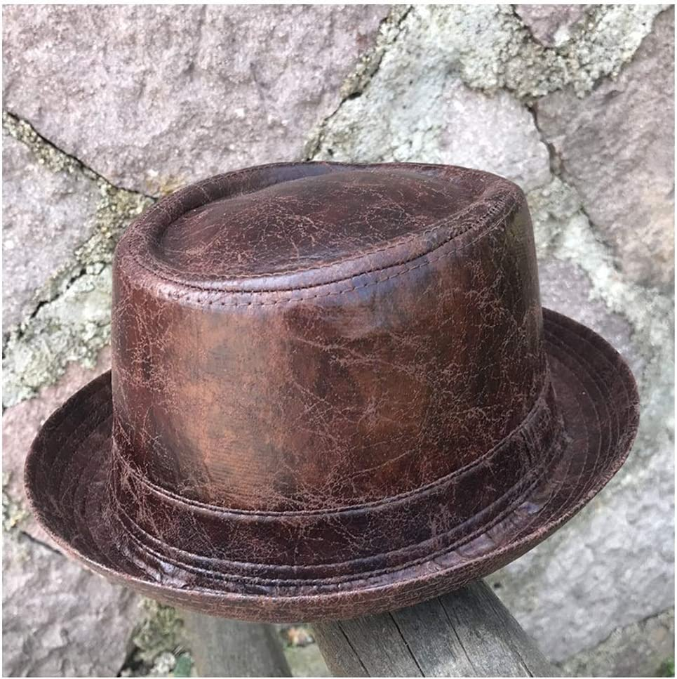 2 Import Size Men Max 80% OFF Pork Pie Hat Feather Flat Dad Boater Fedora H Top