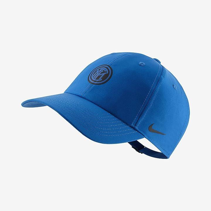 Cappello inter - nike 2020-2021 inter milan h86 core cappellino (blu) CU7614-413