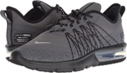 5c9b725c984 Dark Grey Metallic Silver Black. 130. Nike. Air Max Sequent 4 Shield