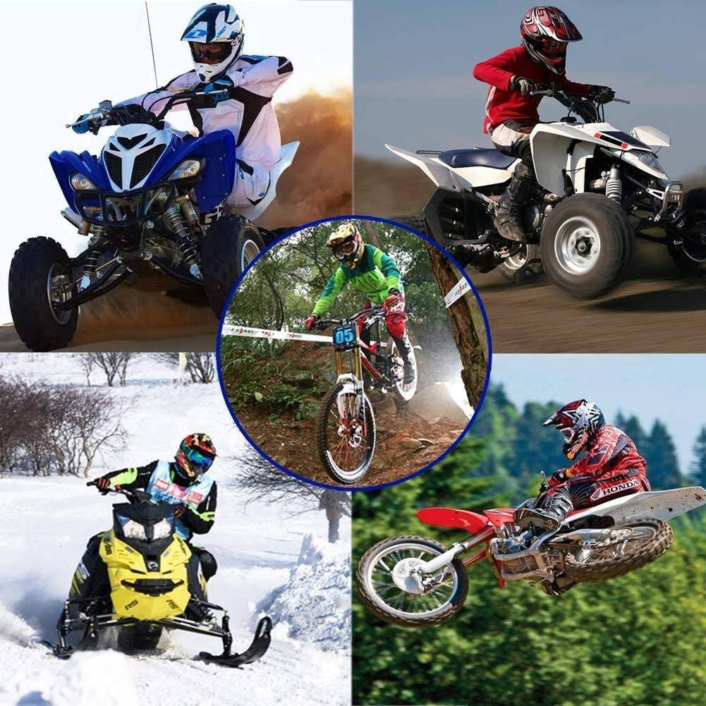NKFDLY Kinder Crosshelm Motorrad Crosshelm Kinder Off Road Helm Motorradhelm Schutzhelm Kit f/ür ATV Downhill MTB Sicherheit Schutz A,Small