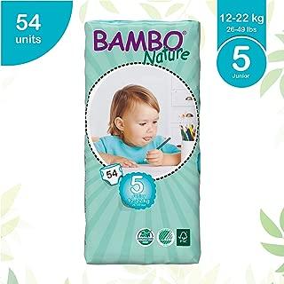Beaming Baby Bambo Junior Size 5 Nappies 54's