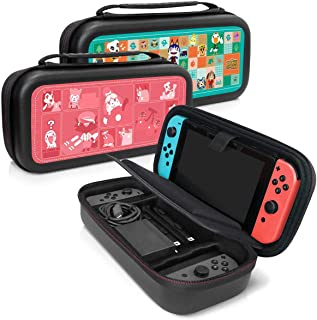Controller Gear Animal Crossing - Nintendo Switch Travel Case - Quilted Tone + Patches Case Skins - Nintendo Switch