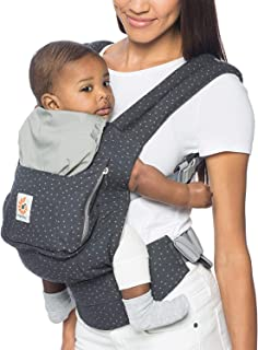 Ergobaby Carrier, Original 3-Position Baby Carrier with Lumbar Support and Storage Pocket, Starry Sky