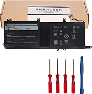 SWEALEER 9NJM1 Laptop Battery Compatible with Dell Alienware 15 R3 R4 17 R4 R5 Series Notebook MG2YH 0MG2YH 01D82 HF250 05...