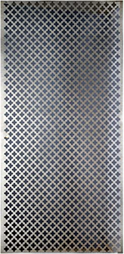 high quality M-D Hobby & Craft M-D Building Products 57324 2021 Decorative Cloverleaf online Aluminum Sheet, Silver, Pack of 2 online sale
