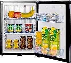 SMETA 110V Compact Refrigerator Freightliner Cascadia Truck Mini fridge RV Can Cooler Camper, 1.2 Cu.Ft