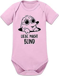 Shirtcity Liebe Macht Blind Maulwurf Baby Strampler