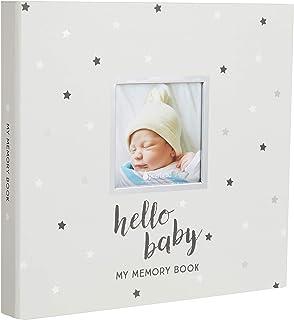 Pearhead Herringbone Baby Memory Book with Included Baby Belly Stickers AmazonUs/PEKJ9 83004