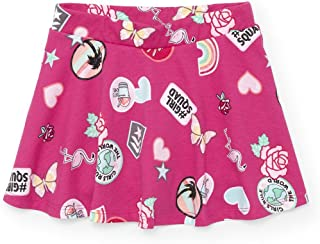 The Children's Place Girls' Mix and Match Print Skort