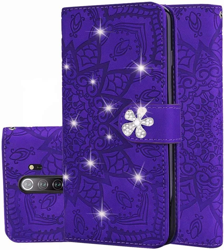 Abtory shopping Xiaomi Jacksonville Mall Redmi Note 8 Pro Wallet Case Flo Leather Bling PU
