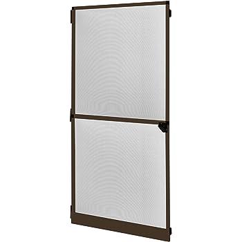 Mosquitera con marco de aluminio para puertas proLINE - 100 x 215 cm - gris: Amazon.es: Hogar