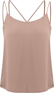 2019 Camisole Women Chiffon Camis Tops Tees Tank Backless VR1230
