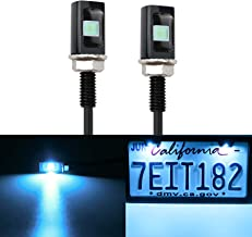 LivTee Super Bright 12V Waterproof Tag Screw Bolt License...