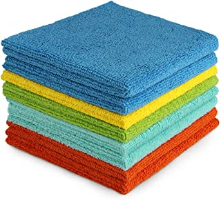 AIDEA Microfiber Cleaning Cloths All-Purpose Softer Highly Absorbent, Lint Free –..