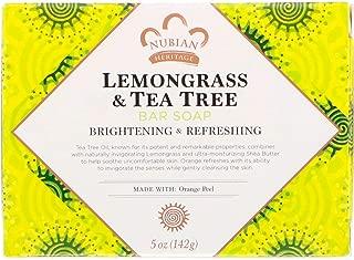 Nubian Lemongrass and Tea Tree Soap (5 oz.) (5-Pack)