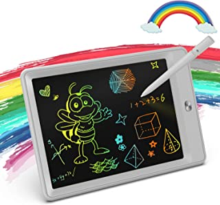 KOKODI LCD Writing Tablet 8.5-Inch Colorful Doodle Board Drawing Tablet, Electronic Drawing Pad with Lock Function, Educational and Learning Girls Toys for 3 4 5 6 Year Old Girls (Gray)