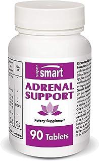 Sponsored Ad - Supersmart - Adrenal Support - Ursolic Acid - Natural Formula with Siberian Ginseng, Rhodiola Rosea, Maca, ...