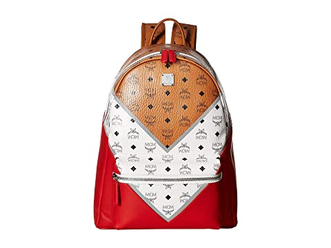MCM Stark M Move Visetos Backpack 40