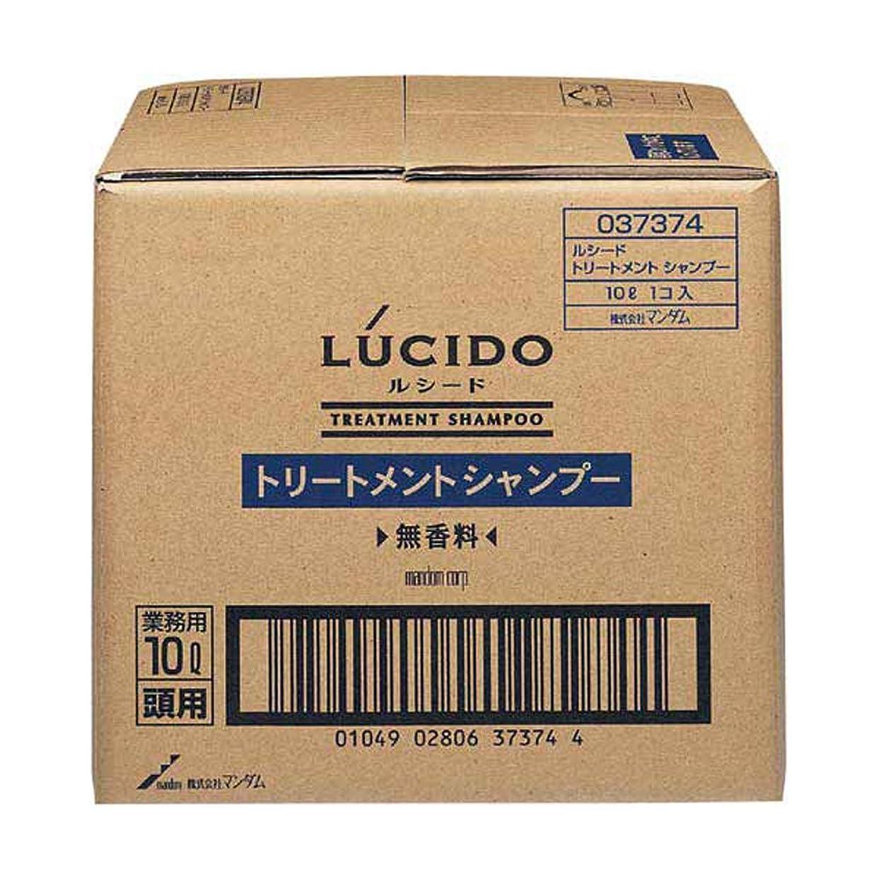落胆した癒す外交官LUCIDO (ルシード) トリートメントシャンプー 業務用 10L