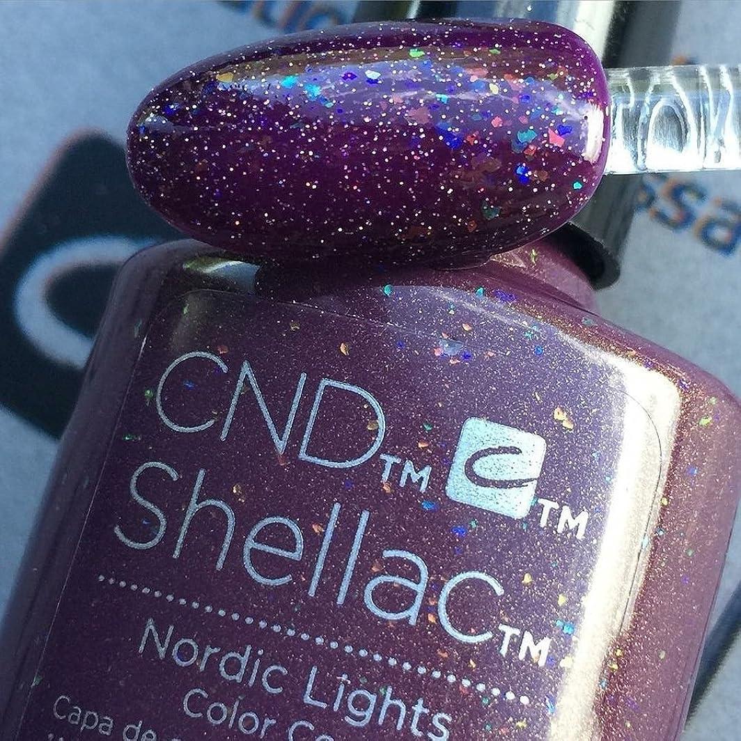 メダル痛み効果的CND シェラック UV カラーコート 211 ノルディックライト Nordic Lights 7.3ml