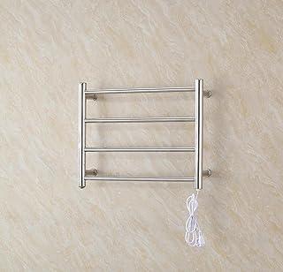 WRH-towel warmer Ronda de tubería montado en la Pared de Acero Inoxidable eléctrico Calentador de Toallas de baño/radiador de baño/Calentador de Toallas 9018