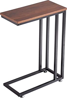 Loglus Side Table/End Table for Living Room, Office, Easy Assembly