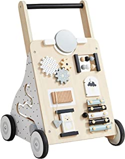 Asweets Wooden Baby Walker Push and Pull Learning...