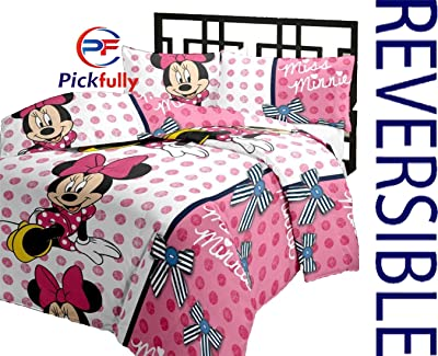PF With Pickfully Poly Cotton Micky Mouse Cartoon Printed Microfiber AC Blanket (Multicolour)